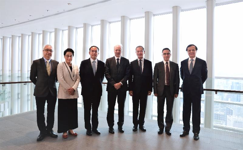 Joint statement on establishment of Green and Sustainable Finance Cross-Agency Steering Group (with photo)
